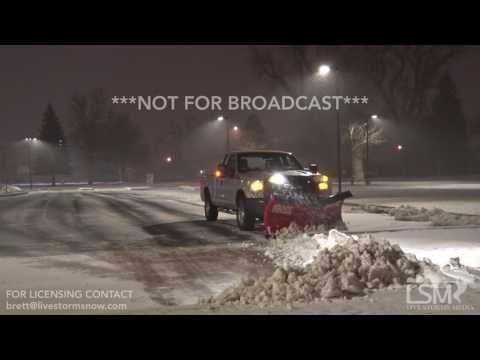 02-23-2017 Cheyenne,WY - Winter storm warning