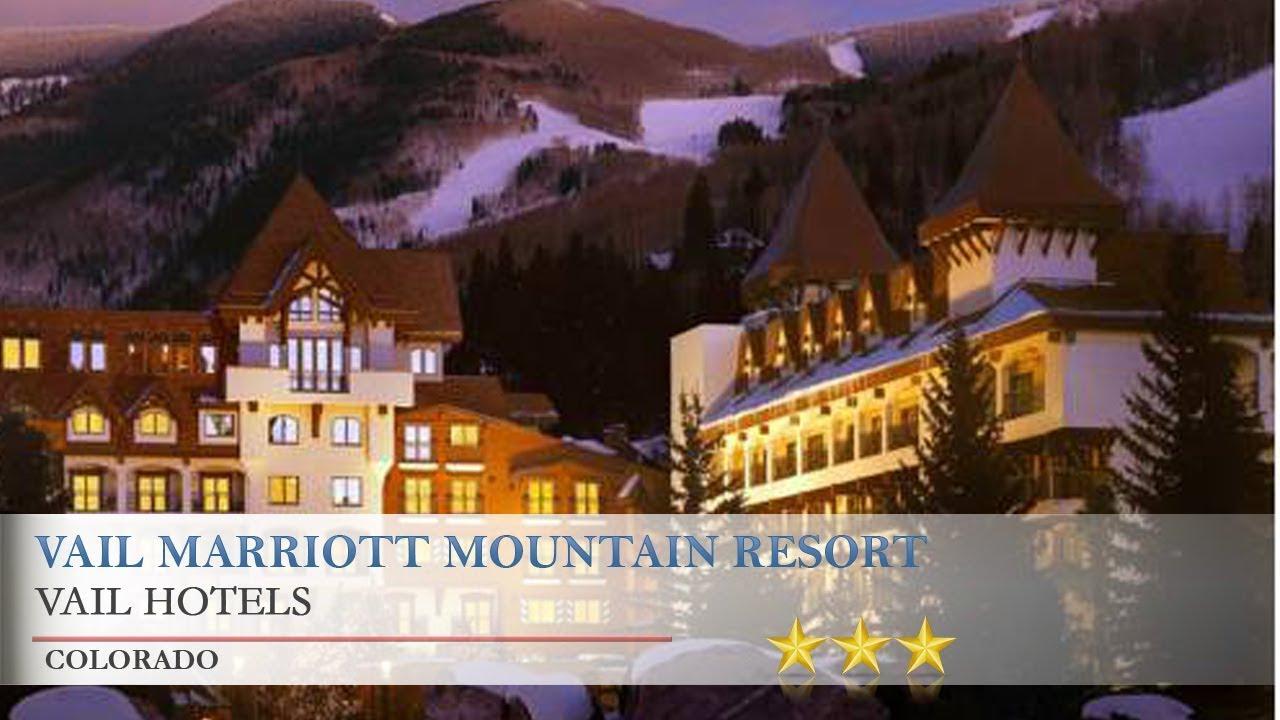 vail marriott mountain resort - vail hotels, colorado