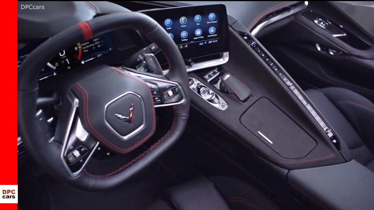 2020 Chevrolet Corvette C8 Stingray Interior Youtube