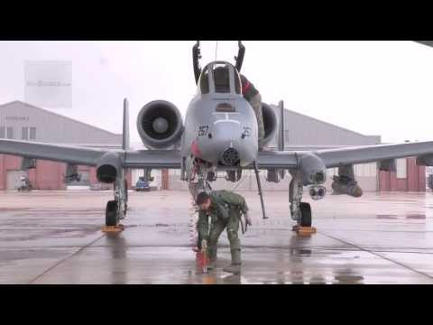 Airmen working on A-10 operations at Selfridge Air National Guard Base | AiirSource