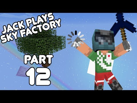 Shiny Upgraded Jetpack! Jack plays Sky Factory Part 12! (August 7th, 2017)