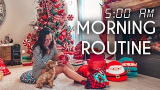 5 AM Morning Routine | Waking up Early in the Winter
