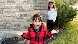 Hide and seek with Zack and Heidi from HZHtube Kids Fun
