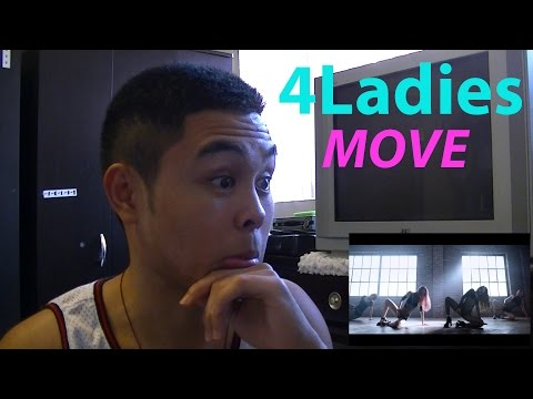 포엘 (Four Ladies 4L) - MOVE (무브) MV Reaction