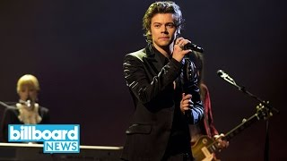 Harry Styles Announces Dates for Intimate World Tour   Billboard News