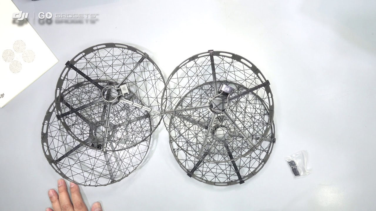 1b1987365c2 แกะกล่อง Propeller cage for Mavic pro - YouTube