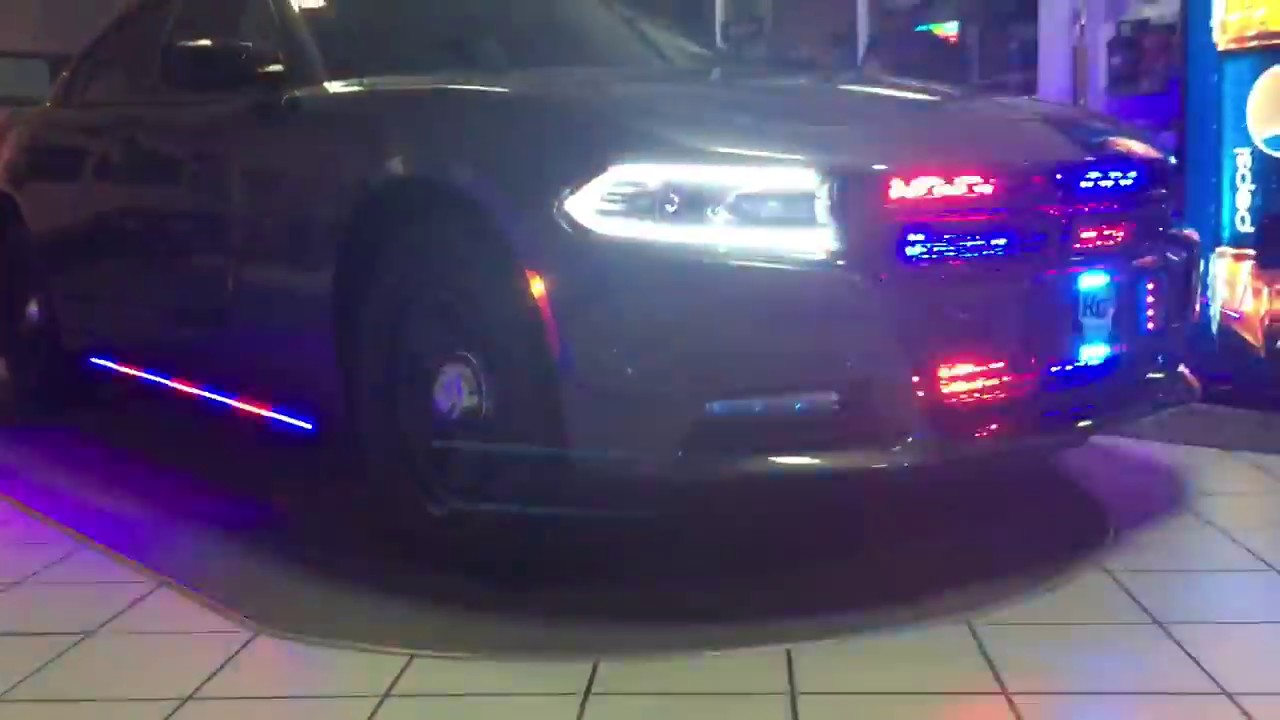HG2 Emergency Lighting | 2015 Dodge Charger Police Lighting Package - YouTube