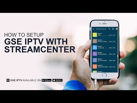 How to Setup GSE IPTV with StreamCenter - YouTube