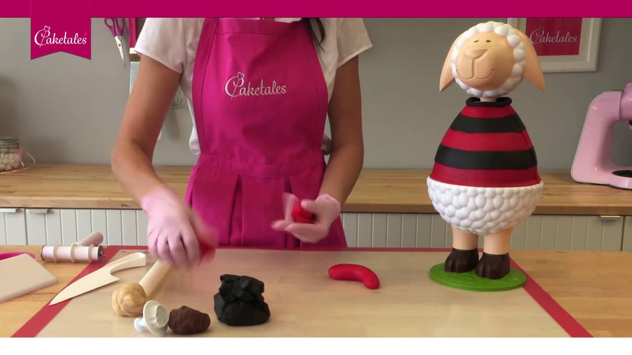 Kuchen Torten Mit Marzipan Gestalten Tutorial Kleiner Pirat
