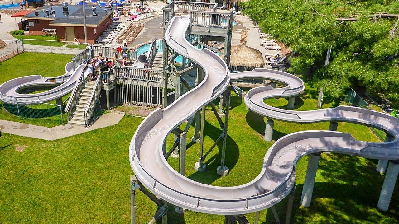 "Chula Vista Resort Wisconsin Dells Wi United States: Long ""Adventure Lagoon"" Water Slide"