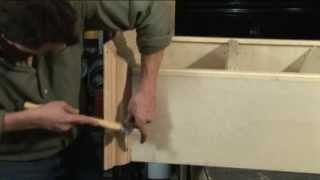 (step 6) Bookcase Crown And Base Molding