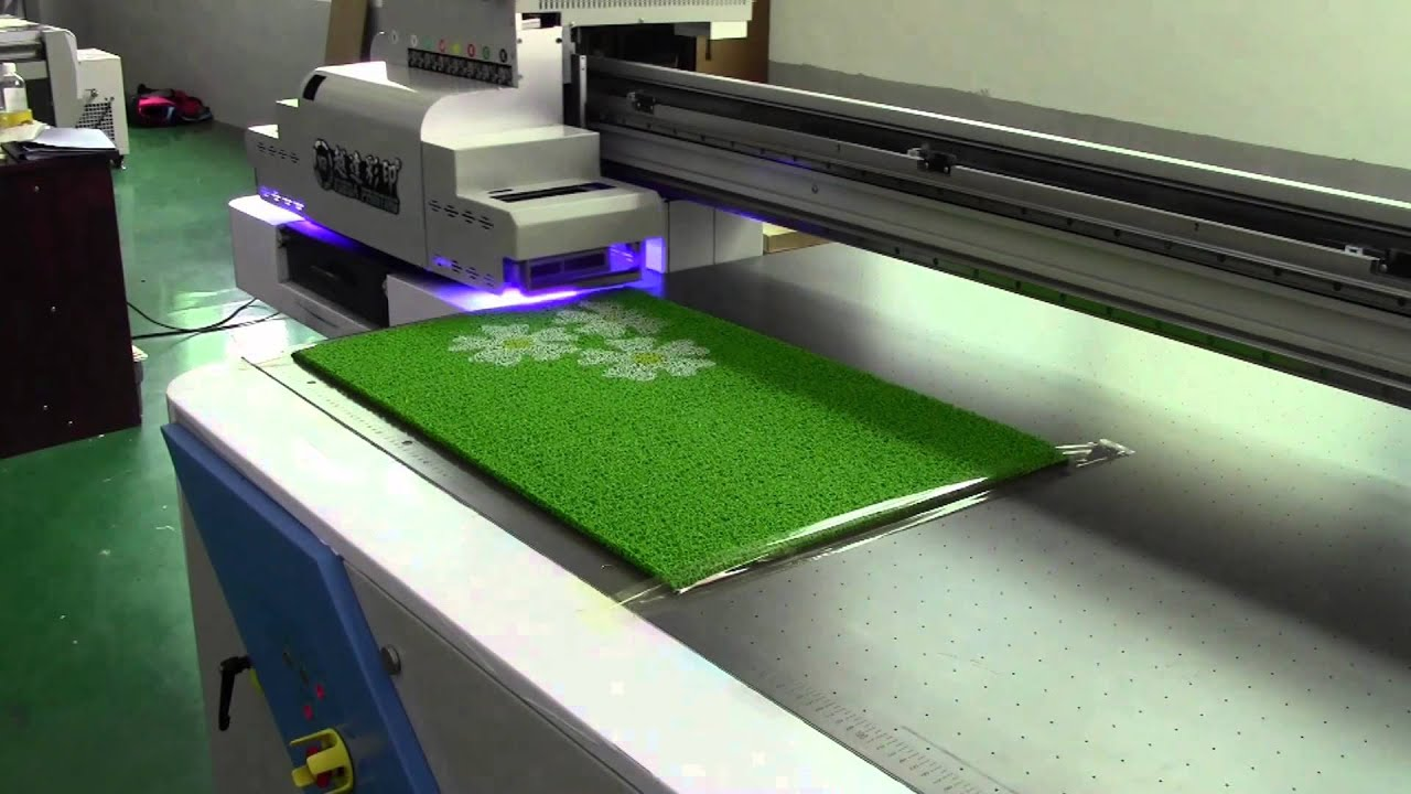 PVC Carpet Printer Machine,carpet Printing Machine Can Print On Any Flat  Materials   YouTube