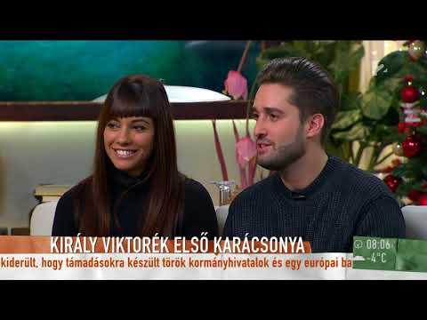 Király Viktor és barátnője először nyilatkozott közösen élő adásban - tv2humokka