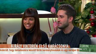 Király Viktor és barátnője először nyilatkozott közösen élő adásban - tv2.hu/mokka