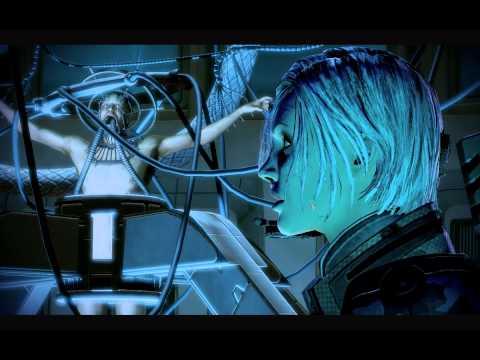 Mass Effect 2 Dialogues: Confronting Dr. Gavin Archer (Overlord DLC) Paragon Femshep