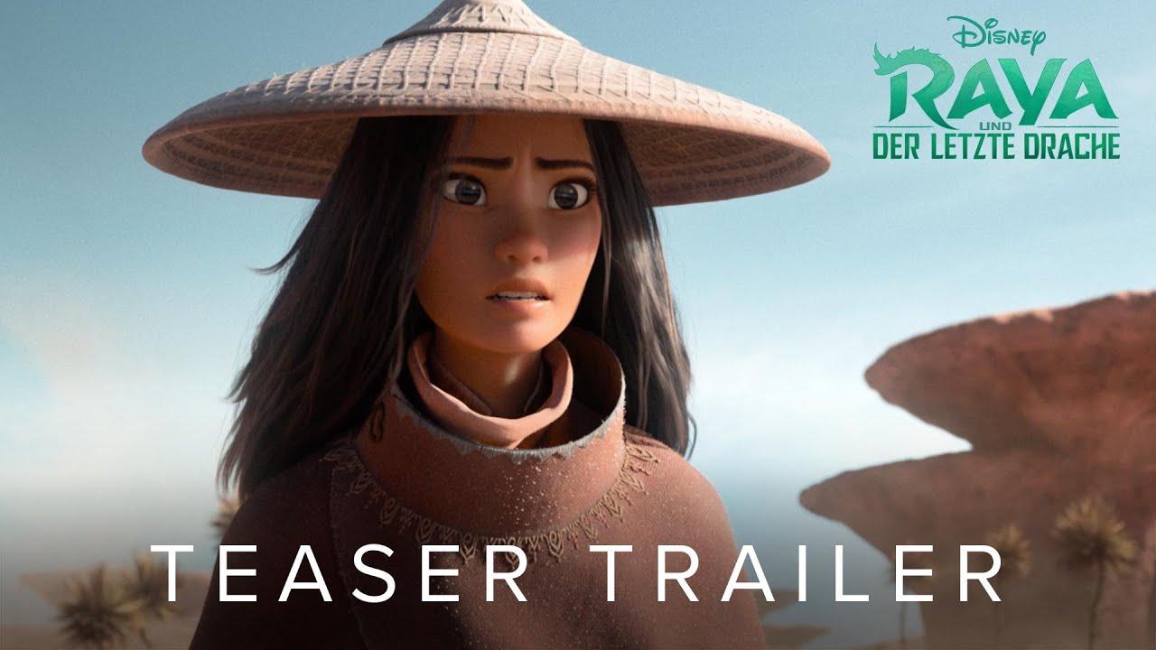 RAYA UND DER LETZTE DRACHE - Teaser Trailer (deutsch/german) | Disney HD