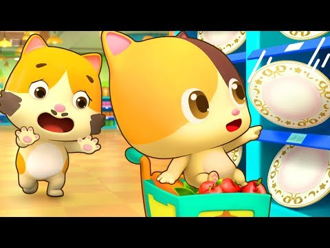 No No Touch Things in Supermarket | Kids Grocery Shopping | Nursery Rhymes | Kids Songs | BabyBus