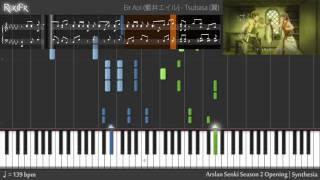 【TV】Arslan Senki: Fuujin Ranbu Opening - Tsubasa (Piano)
