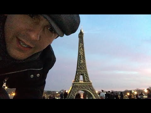 Sundown in Paris & The Eiffel Tower
