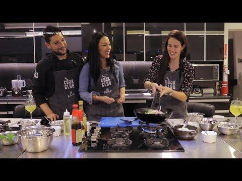 Patty Wong entrevistó y cocinó con Emilia Drago en Cook Club   † MÍRAME †