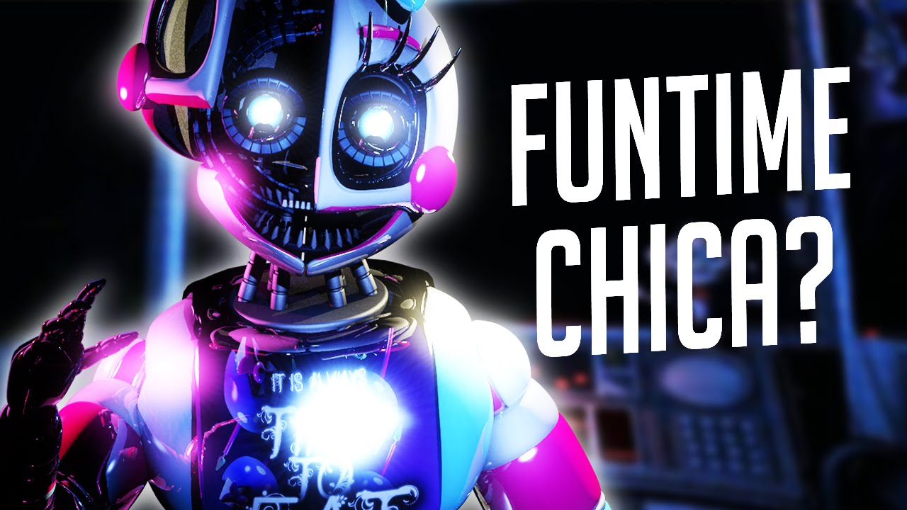 Funtime Chica Hinted Five Nights At Freddy S Sister