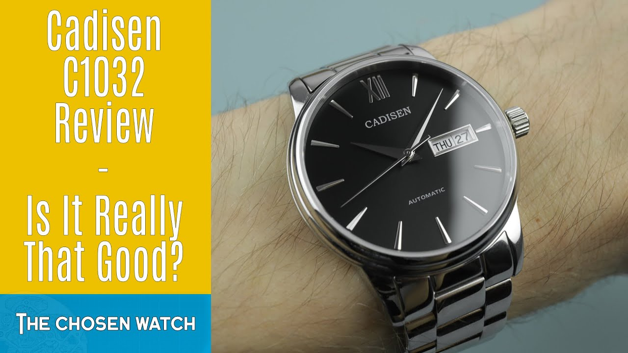 Cadisen C1032 Review - Really The Best Watch Under £50?