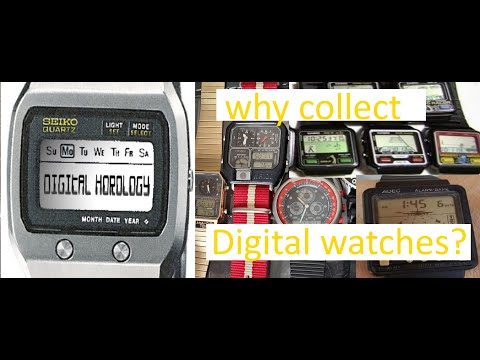 Digital Horology Beta episode #1 - Why should a gamer collect digital watches?