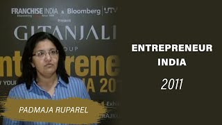 Padmaja Ruparel at Entrepreneur India