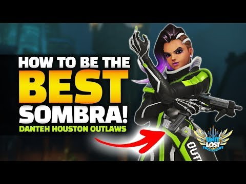 Overwatch - Be The Best Sombra! Houston Outlaws Danteh CLUTCH PLAYS! thumbnail