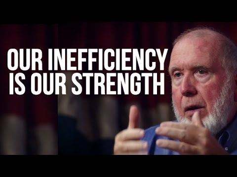 OUR INEFFICIENCY IS OUR STRENGTH - Kevin Kelly on London Real