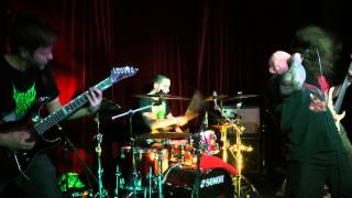 Fetal Decay - Live in Monaclub, Moscow 22.02.2014