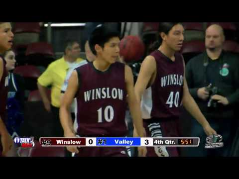 Winslow vs Valley Christian 3A State Basketball Quarterfinals Full Game
