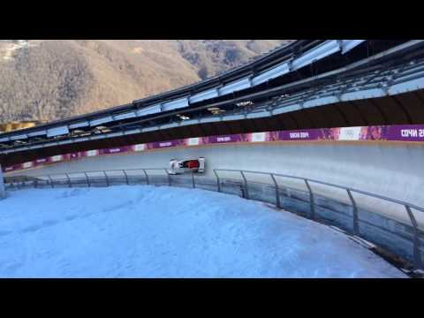 Bobsled in Sochi