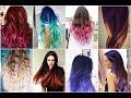 Радужное Окрашивание   Цветные Волосы   Красивые Прически