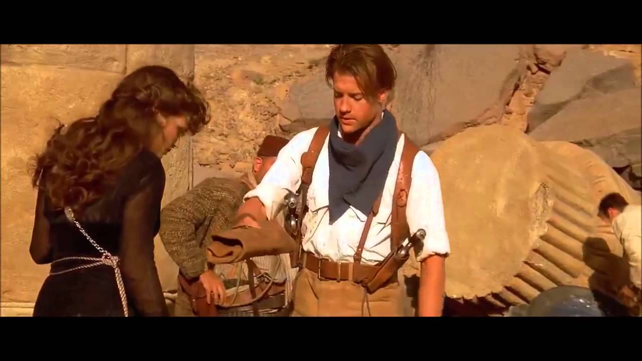 The mummy 1999 the cutest scene youtube publicscrutiny Image collections