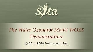 The SOTA Water Ozonator Model WOZ5 - Push Button