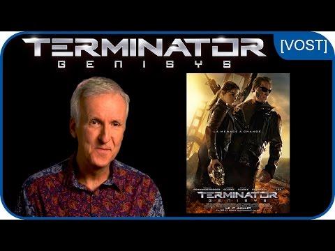 """James Cameron : """"Vous allez adorer TERMINATOR GENISYS !"""" [VOST]"""