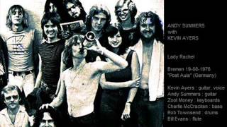 ANDY SUMMERS & KEVIN AYERS - Lady Rachel (Bremen 19-08-76 Germany)