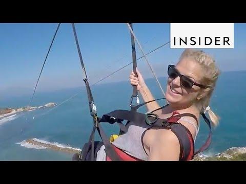 Beach Zipline in Haiti Takes You Over the Water