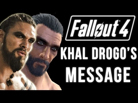 Fallout 4 Nuka World DLC Best Part (Game Of Thrones Khal Drogo's Sneaky Appearance)!