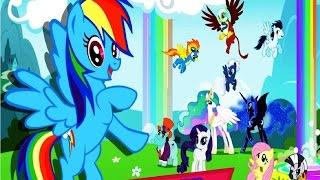 Мой маленький пони Обзор игры My Little Pony мультик игра видео для детей #Мобильные игры