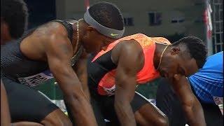 Men's 100m at Palio Citta della Quercia 2018
