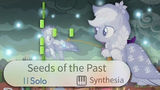 The Seeds Of The Past My Little Pony FIM PIANO COVER W LYRICS Synthesia HD
