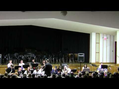2012, Wilbraham Middle School, Winter Concert, Jazz Band, Born To Be Wild