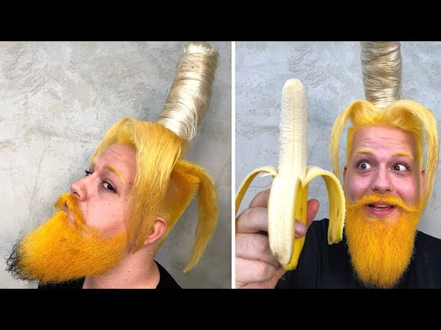ROCK PAPER SCISSORS 9 - Funniest BANANA HAIRCUT