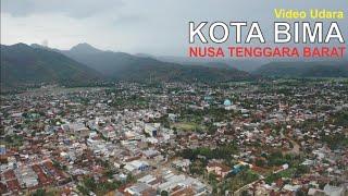 Download Video Video Udara Kota Bima di Pulau Sumbawa Nusa Tenggara Barat, Pesona Kota Berbukit MP3 3GP MP4