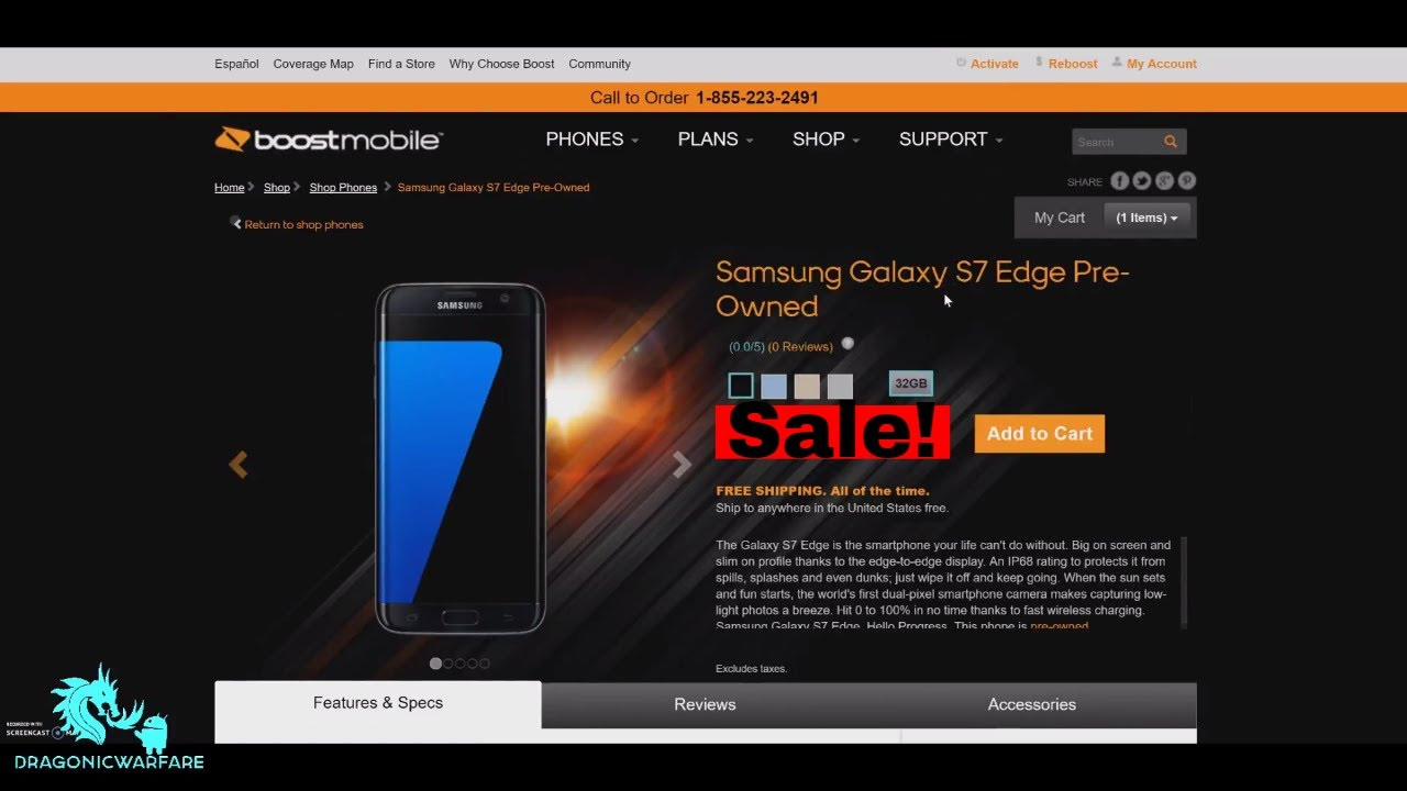 Samsung Galaxy S Edge On Sale Boost Mobile HD YouTube - Boost mobile coverage map