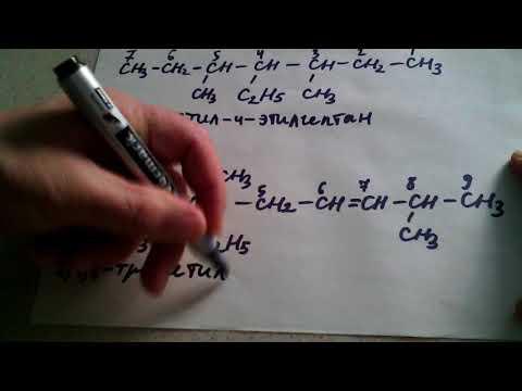 Как назвать вещество по структурной формуле