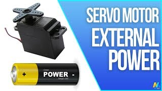 Arduino Tutorial - Servo Motor with an External Power