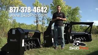 Skid Pro Skid Steer SP300 Mulcher